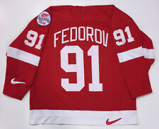 SERGEI FEDOROV DETROIT RED WINGS NIKE 1998 STANLEY CUP JERSEY SIZE XL