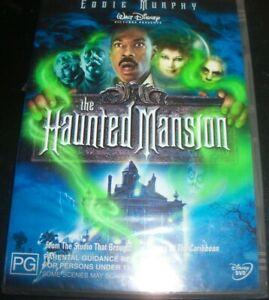 The Haunted Mansion (Eddie Murphy) Disney (Australia Region 4) DVD – New