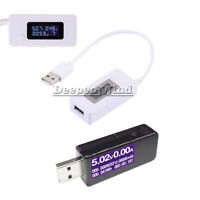 USB LCD Detector Voltmeter Ammeter Power Capacity Voltage Current Meter Tester