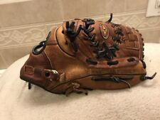 "Easton NAT60 12.5"" USA Tanned Leather Baseball Softball Glove Right Hand Throw"