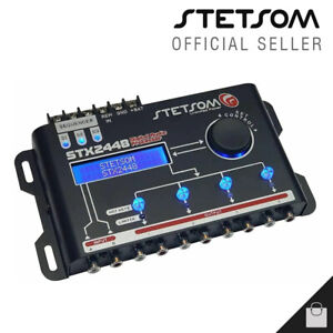 Stetsom STX 2448 Crossover 4 Way Equalizer Car Audio Processor - 3 Day Delivery