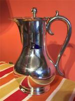 Vintage Royal Yorkshire Yacht Club 2 Pint Silver Plate EPNS Coffee Jug Barker