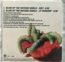 SOUNDGARDEN Blow up the Outside World US promo CD Chris Cornell Audioslave
