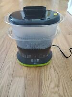 T-fal Balanced Living Compact Food/Vegetable Steamer Model: Serie S-15 2 Tier
