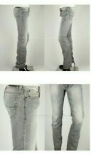 Perfect mens DIESEL SAFADO 008QP JEANS size W36 L32 Grey SLIM STRAIGHT LEG