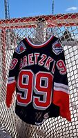 Vintage NHL New York Rangers Wayne Gretzky Authentic CCM Liberty Bell Jersey