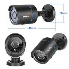 SANNCE 1x  HD-TVI 720P In/Outdoor IR-CUT CCTV Home Security Camera 1500TVL