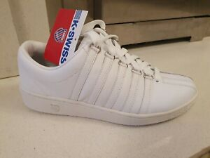 K.Swiss Men's Classic Luxury Edition Low white size 7 UK Brand New with Tags