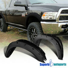 10-17 Dodge Ram 2500 3500 Pocket Rivet Fender Flares Tough Finish Wheel Cover