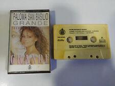 PALOMA SAN BASILIO GRANDE CINTA TAPE CASSETTE HISPAVOX 1987 SPANISH EDIT
