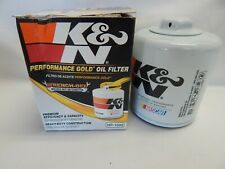 K&N Performance Engine Oil Filter HP1002 Premium Gold Wrench Off On