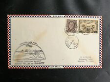 TIMBRES DU CANADA : FIRST OFFICIAL FLIGHT GREAT FALLS TO BISSETT - 15 2 1933