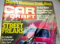 Rod & Custom June 1972 Magazine Chevy's Aluminum Small-Block Street Freaks