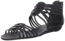 Leather Open Toe Medium (B, M) Width Heels Women's US Size 8