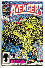 Avengers 257 Marvel 1985 VF 1st Nebula Thanos Guardians Of Galaxy Infinity War