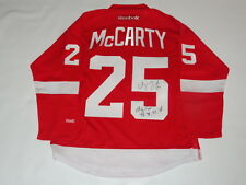 DARREN MCCARTY SIGNED RBK DETROIT RED WINGS 1997 STANLEY CUP JERSEY JSA COA