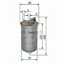 NEW ENGINE FUEL FILTER OE QUALITY REPLACEMENT BOSCH 0450906261