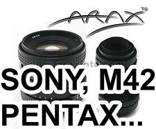 TILT ADAPTER to use Arax P-SIX Kiev-60 lens on  Pentax Sony M42 Camera. Warranty