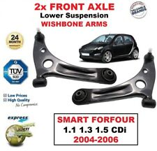 2x FRONT L+R Lower Wishbone ARMS for SMART FORFOUR 454 1.1 1.3 1.5 CDi 2004-2006