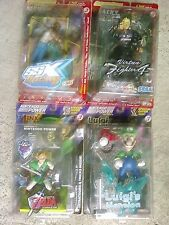 Nintendo Power Joyride Luigi's Mansion,Link Legend of Zelda,Jacky,Psymon Figures
