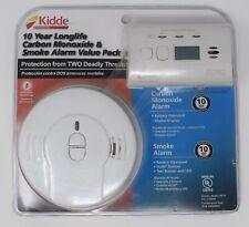 Kidde Carbon Monoxide (CO) Detector and Smoke Alarm Value Pack Brand New