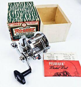 Nice Pflueger Rocket No 1365-F Salt Water Casting Reel In Correct Box