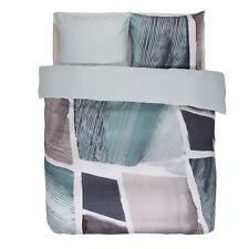 Essenza Bettwäsche Set Arty blue blau mehrfarbig abstrakt künstlerisch Satin