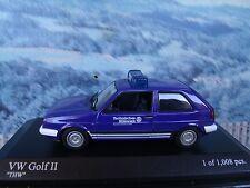 1/43   Minichamps   1985 Volkswagen  Golf II THW 1 of 1008