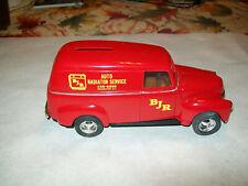 "Ertl #7614 1:25 ""BJR Radiator Service Rochester, NY"" 1950 Chevy Panel Van Bank"