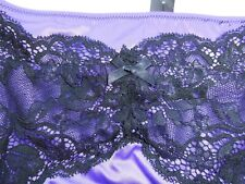 NEW Purple and Black Adorn Waspie