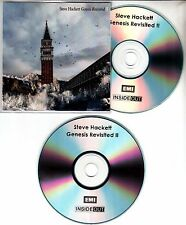 STEVE HACKETT Genesis Revisited II UK 21-track promo test 2-CD Steven Wilson