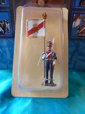 Porte drapeau Hachette N°4 - Esc. chevau légers polonais 1814 - Flag bearer