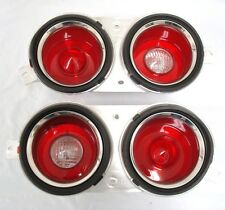 1970 1971 1972 1973 Camaro Tail & Back-Up Lamp Light Housing Taillights Set Pair