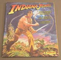 1989 Panini Indiana Jones empty album Italian language Rare
