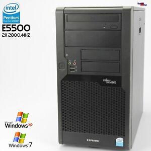 PC Computer Fujitsu Esprimo P5731 E STAR5 D3011 Dual Core E5500 2GB DDR3 RS-232