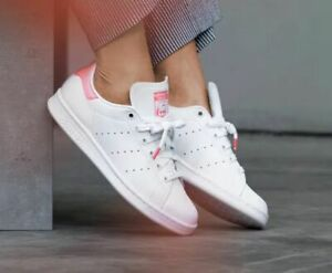 Adidas Womens Pink Stan Smith - Size US 5 / UK 3.5 - WORN ONCE - RRP $140