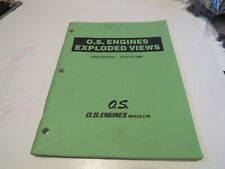 O.S. Engines August 1988 Vintage Engines Exploded Diagrams 91 Pages