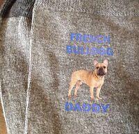 FRENCH BULLDOG DADDY PRINTED SOCKS FATHERS BIRTHDAY GIFT BAG PRESENT DOG DAD