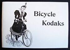 1897 BICYCLE KODAK catalog of antique BIKES and CAMERA brochure Kodaks
