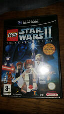 * Nintendo Gamecube Game * LEGO STAR WARS II 2 THE ORIGINAL TRILOGY * Cube Wii