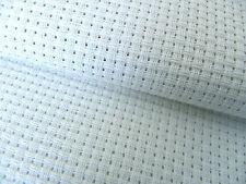 4 pieces White 6 count Zweigart Binca Fabric  Aida 15 x 20 cm