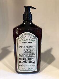 Apothecary Makers Tea Tree and Eucalyptus Hand Soap w/ coconut OIL 24.5 oz