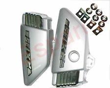 Yamaha RX135 Side Panel Set Silver