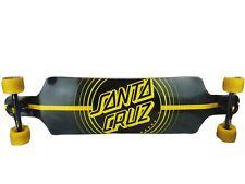Santa Cruz Black & Yellow Longboard Complete Deck 🛹 Excellent Condition