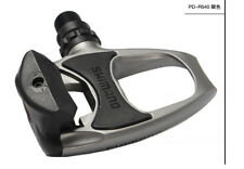 PD R540- SPD SL Clipless Road Pedals + Cleats - Silver/Black Racing Bike