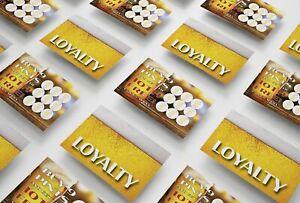 Pint Loyalty Card For Pub, Restaurant, Bistro, Hotel, Club, Bar - From 6p/Card