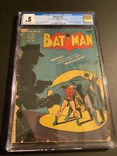 Batman #16 - DC 1943 CGC 0.5 C/OW 1st App Alfred Pennyworth HTF Rare