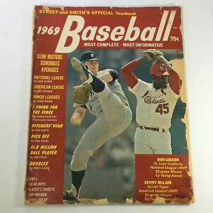 VTG Street & Smith's Baseball 1969 Yearbook - Bob Gibson / Denny McLain