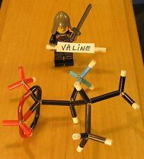 Valine MicroMolecule Molecular Model Kit, DIY