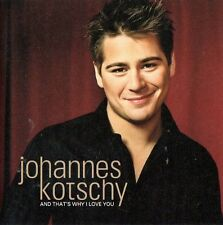 CD Schweden Johannes Kotschy, and that's why I love you, 2003